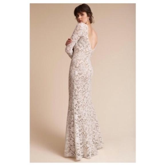 07b51c7abdd7 BHLDN Dresses & Skirts - Winter BHLDN Medallion Wedding Gown